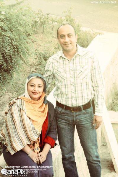 عارف لرستانی و همسرش الهام ناصری +ماجرای ازدواج شان