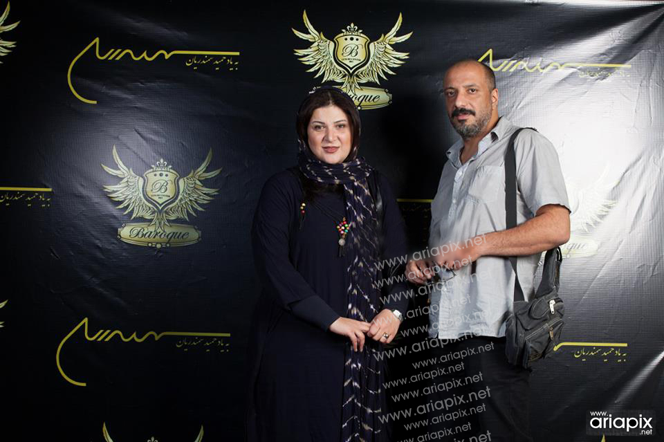 Amir Jafari And Wife Rima ramin far - امیر جعفری و همسرش ریما رامین فر