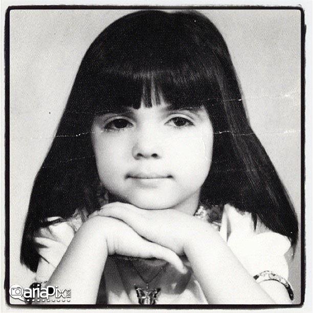 عکسی از کودکی الهام پاوه نژاد
