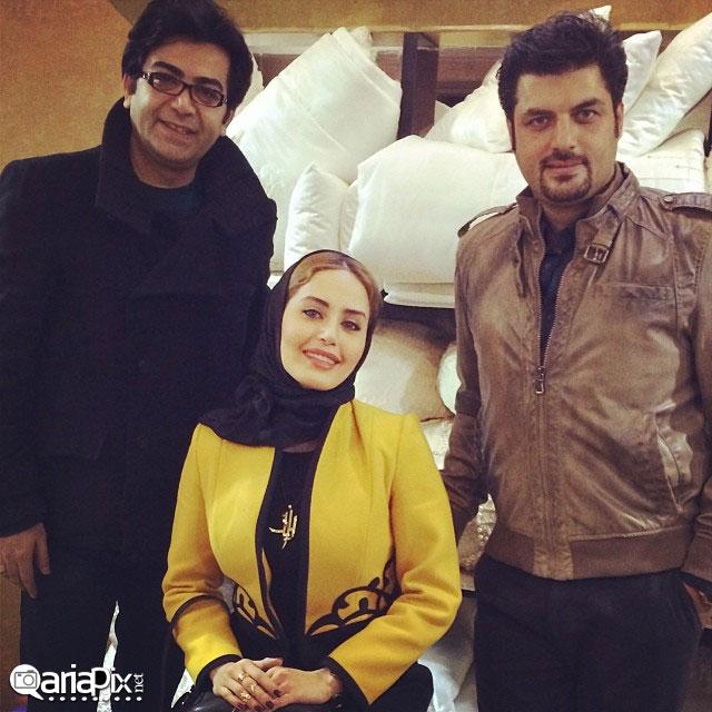عکس جدید از سام درخشانی,فرزاد حسنی و الناز شاکردوست در شهر شیراز