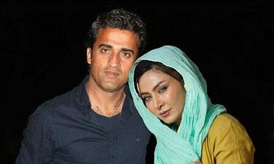 فقیهه سلطانی و همسرش جلال احمدیان  عکس