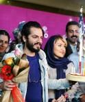 عباس غزالی و همسرش + عکس