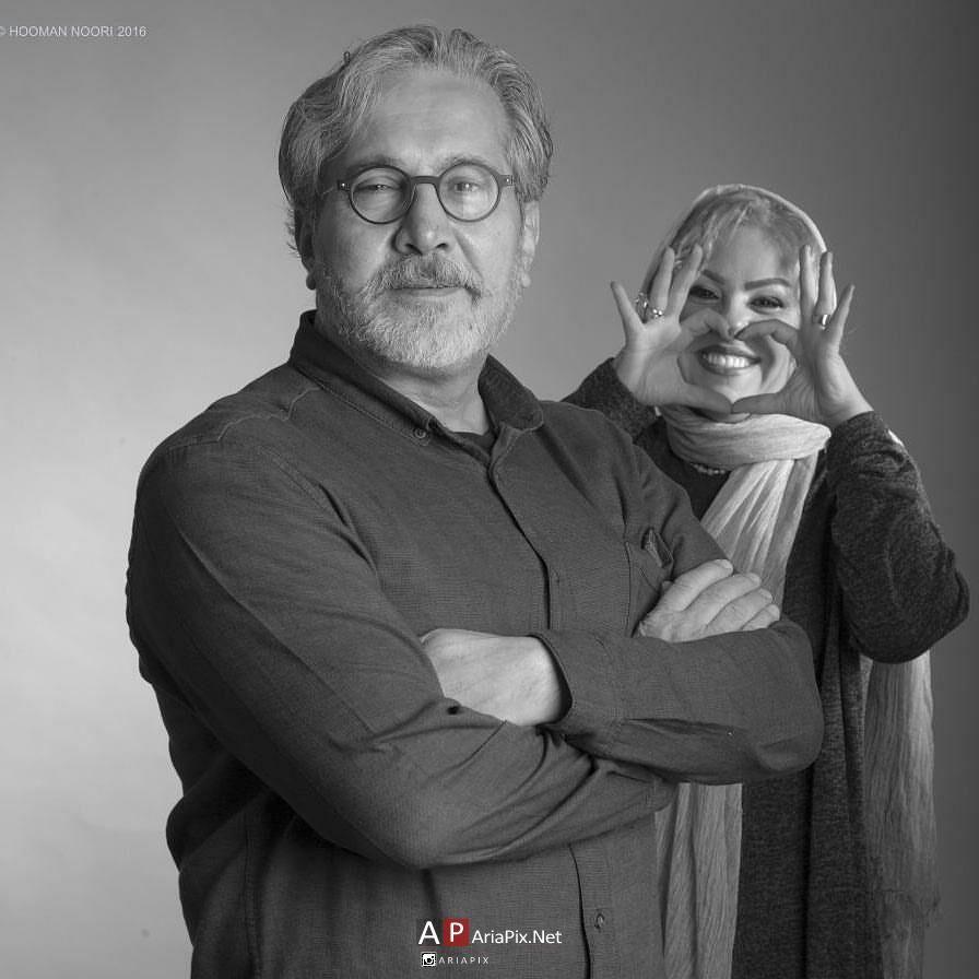 بیوگرافی افسانه چهره آزاد و همسرش شاهرخ فروتنیان +گفتگو و عکسها