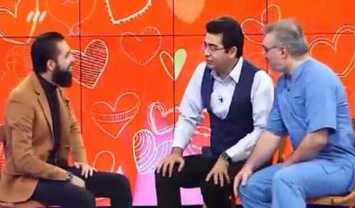 سکته محسن افشانی در برنامه اکسیر تلویزیون
