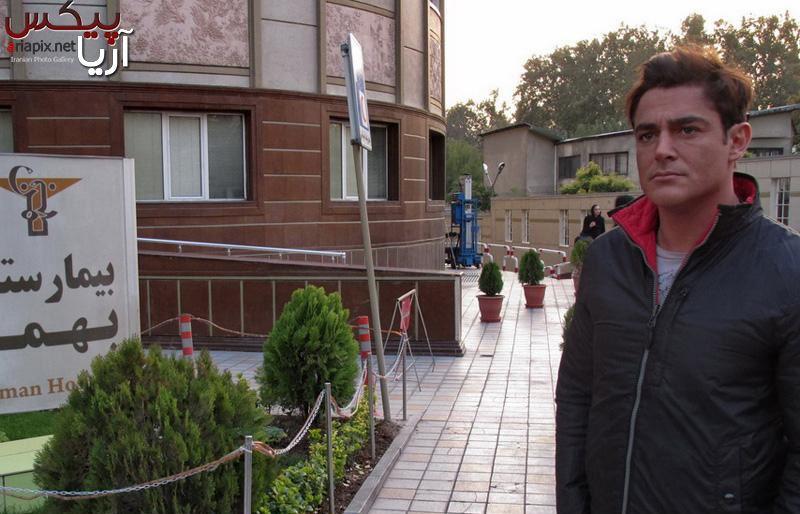 ملاقات محمدرضا گلزار از مرتضی پاشایی در بیمارستان