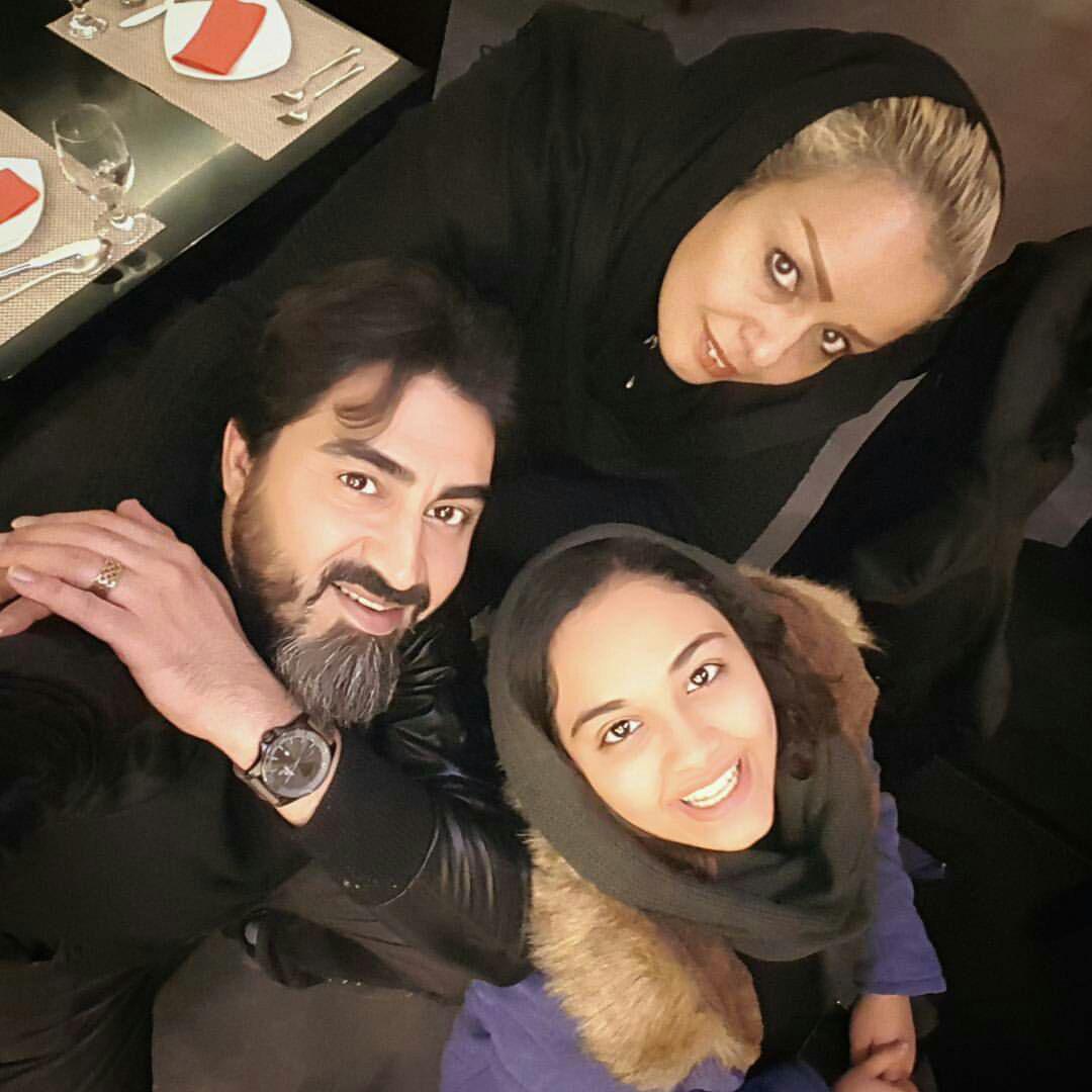 عکس محمدرضا علیمردانی و همسرش و دخترش خانواده اش