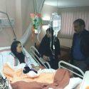 کیمیا علیزاده به همراه عروسکش در بیمارستان + عکس !