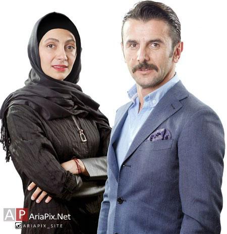 گفتگوی جدید با امین حیایی و همسرش نیلوفر خوش خلق در سال ۹۴   عکسهای جدید