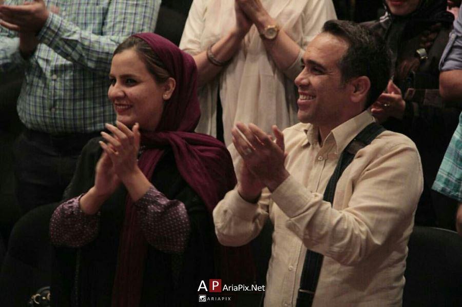 عکسها و بیوگرافی امیر کربلایی زاده و همسرش
