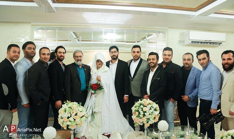 مراسم عروسی حامد ماه عسل و همسرش
