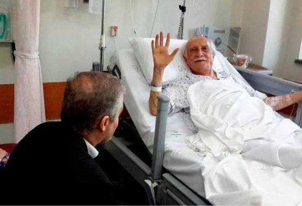 وضعیت و بیماری داریوش اسدزاده