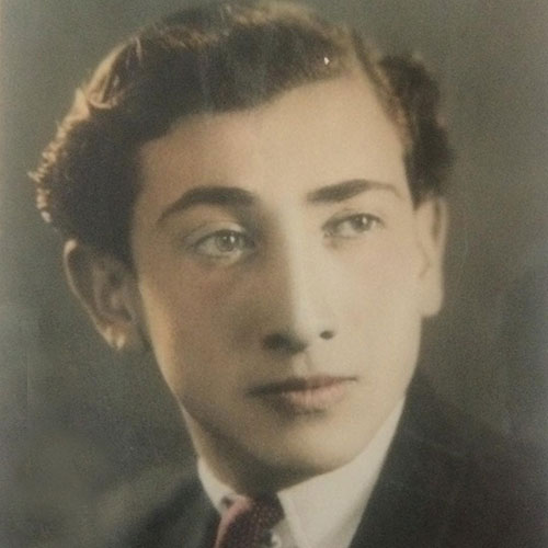 عکس دوران جوانی داریوش اسدزاده