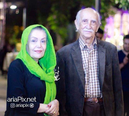 عکس داریوش اسدزاده و همسرش