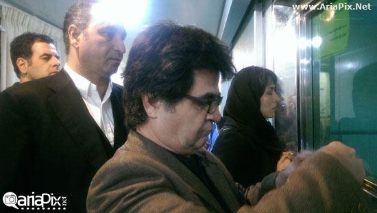 دیدار هنرمندان با قربانیان اسید پاشی اصفهان