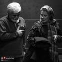 عکسها و بیوگرافی عاطفه رضوی و همسرش حسین پاکدل