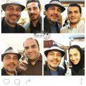 سلفی رضا عطاران با قهرمانان ایران در المیپک ریو 2016 + عکسها