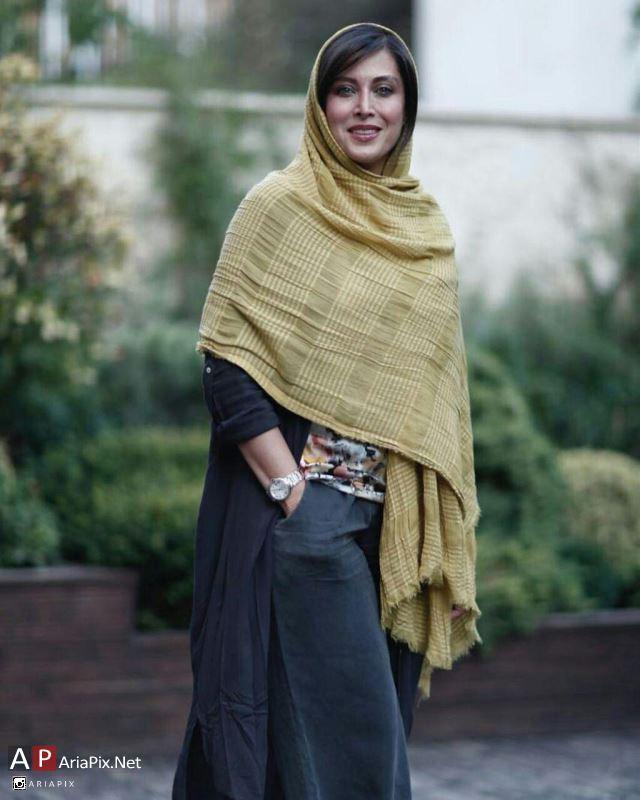 مهتاب کرامتی در افتتاحیه باشگاه هواداران هنر ایران
