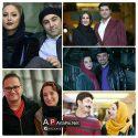 عکسهای بازیگران و همسرانشان در جشنواره فجر 95