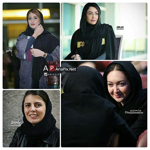 بازیگران زن در جشنواره فیلم فجر 95 , تیپ بازیگران در جشنواره فجر