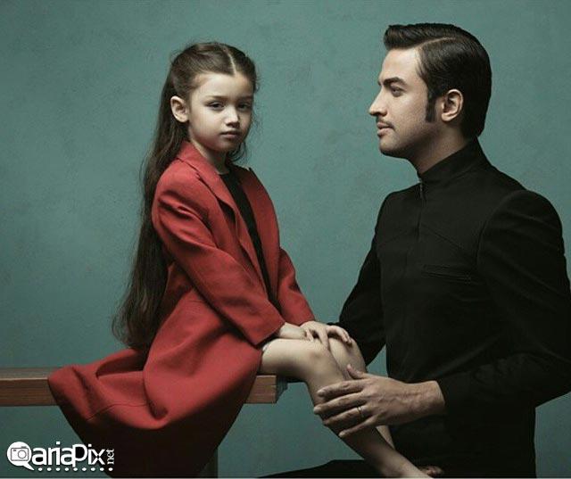 بنیامین بهادری و دخترش
