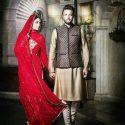 بنیامین بهادری و همسرش شایلی محمودی با تیپ هندی ! +تصاویر