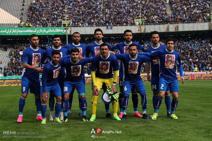 عکسهای تیم استقلال در دربی 84