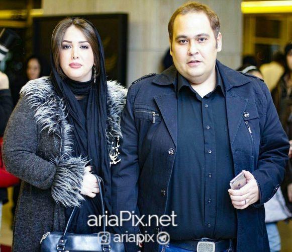 رضا داوود نژاد و همسرش