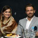 حضور دیا میرزا و محمدرضا گلزار در اکران مردمی فیلم سلام بمبئی +عکسها