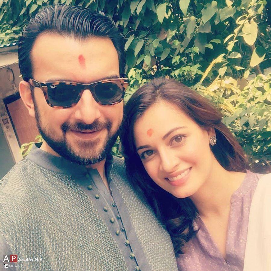 دیا میرزا و همسرش + بیوگرافی و عکسهای دیا میرزا بازیگر هندی