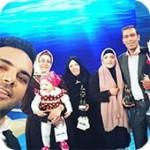 عکسهای سلفی اینستاگرامی احسان علیخانی با مهمانان برنامه ماه عسل 95