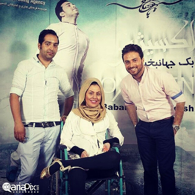 احسان و سولماز ماه عسل در کنسرت بابک جهانبخش خواننده