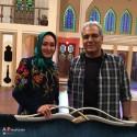 الهام حمیدی مهمان برنامه دورهمی مهران مدیری شد + عکسها
