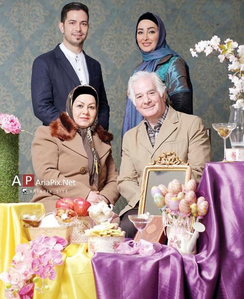 گفتگو با الهام حمیدی ویژه نوروز 94 +عکس