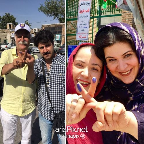 پایتختی ها هم رای دادند +عکس