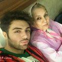 ارمیا قاسمی و مادرش + عکس