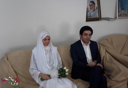 عکس های مراسم عقد فرزاد حسنی و آزاده نامداری