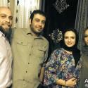 گلاره عباسی و همسرش در کنار محسن چاوشی و همسرش + عکس