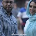 اولین عکس منتشر شده از گلاره عباسی و همسرش