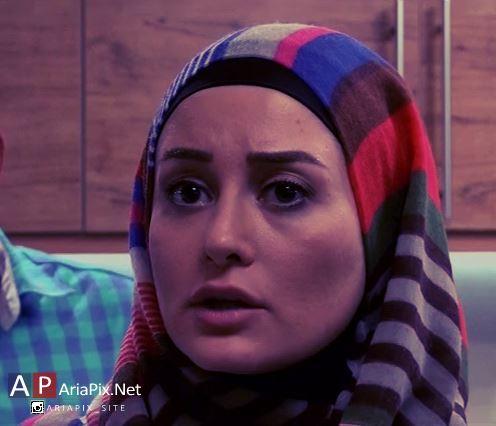 گلناز خالصی بازیگر نقش باران در مجموعه فوق سری
