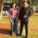 محمدرضا گلزار در کنار بازیگر زن هندی ( دیا میرزا ) + عکس