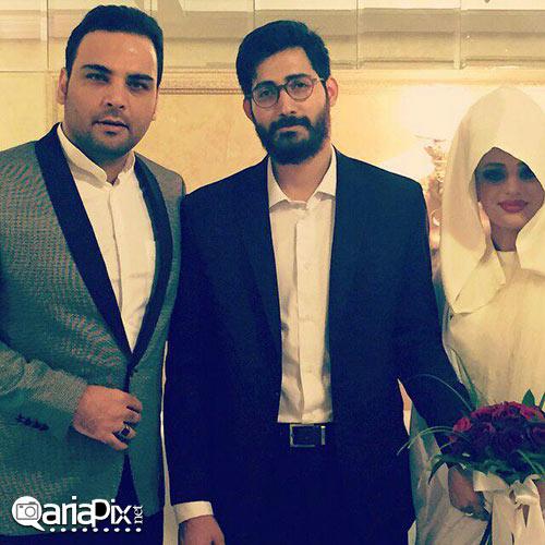 عروسی حامد ماه عسل و همسرش در مشهد