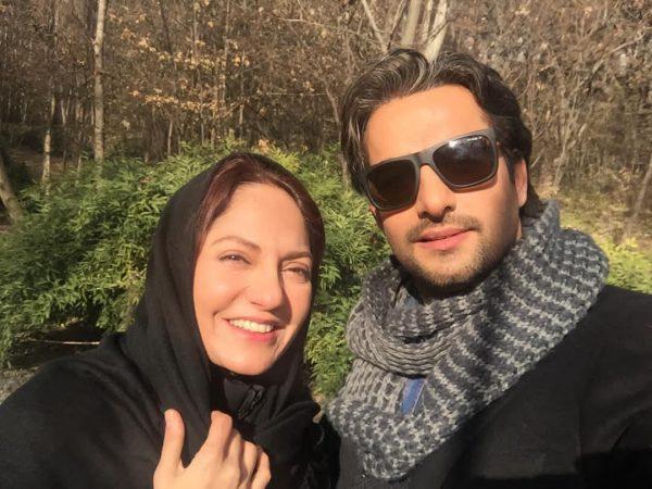 حامد کمیلی و همسرش