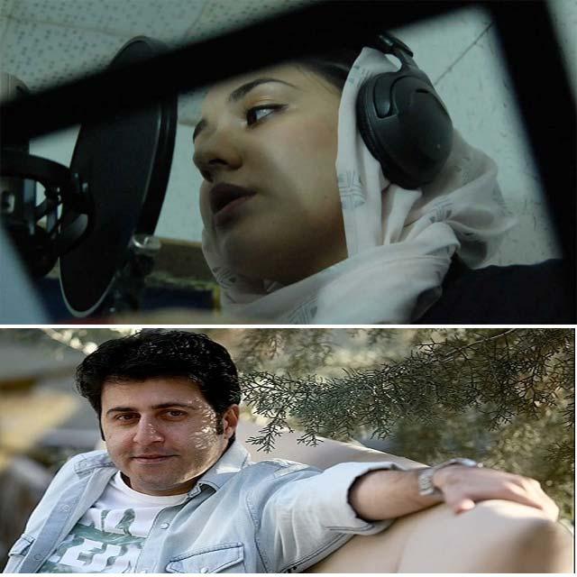 هومن حاج عبداللهی و همسرش
