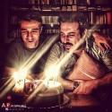 جشن تولد مشترک پژمان جشمیدی و محسن کیایی + عکس