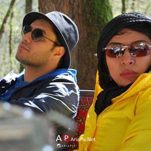 جواد عزتی و زنش مه لقا باقری