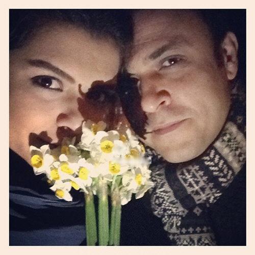 عکس علیرضا کمالی و همسرش دنیا مدنی