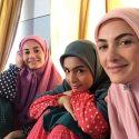 سوسن و سرو و سنبل خواهران ترشیده علی البدل در پشت صحنه سریالشان+عکس