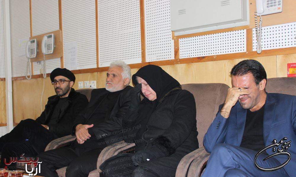پدر مادر و برادر مرتضی پاشایی در برنامه زنده تلویزیون