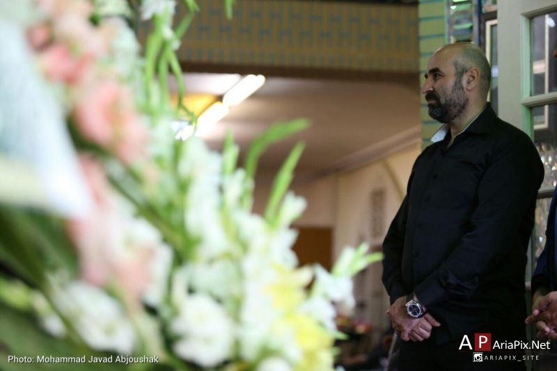 عکسهای مراسم ترحیم و ختم مادر علی مسعودی
