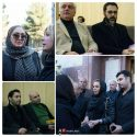 عکسهای مراسم ختم پدر نیوشا ضیغمی با حضور بازیگران و هنرمندان
